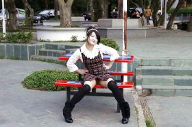 Chinese girl flashing pussy in public Porn Pics #16564371