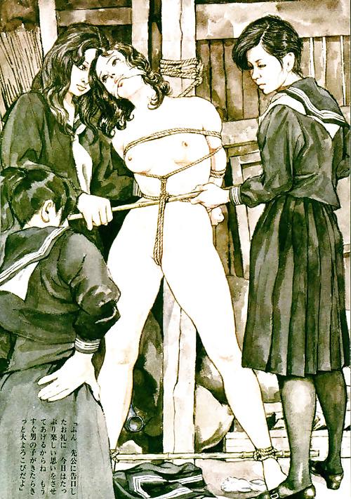 Lesbian bdsm cartoon intimidation #13894545