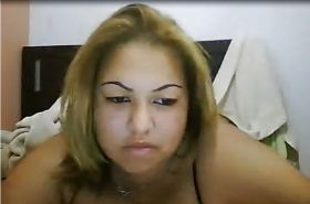Brazillian Crackhead in webcam