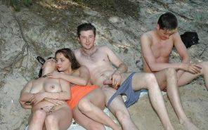 Group Sex Amateur Beach #rec Voyeur G4 #6375235