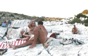 Group Sex Amateur Beach #rec Voyeur G4 #6375248