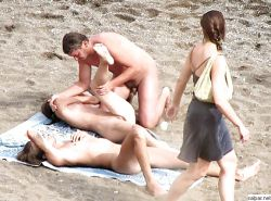 Group Sex Amateur Beach #rec Voyeur G4 #6375286