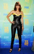 Tyra Banks CLEAVAGE at the Teen Choice Awards in LA