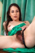 Hairy pussy wet and creamy