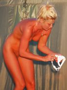 Blond Nudist