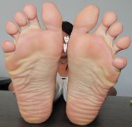 Sexy toes and soft dirty soles like cum
