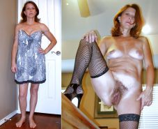Dressed & undressed beauties 246 (only milf )