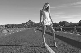 Nude Hitchhiker: Would you pick her up?