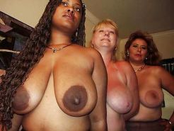 Big Boob Black Beauties