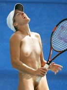 Tennis women nude on court fake