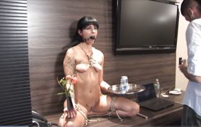 Pain pleasure sexslaves bdsm tied up taped up whipped 4 #12982310