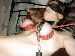 Pain pleasure sexslaves bdsm tied up taped up whipped 4 #12982430