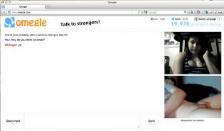 Small dick omegle webchat