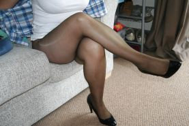 Mature Wife In Pantyhose and Stockings