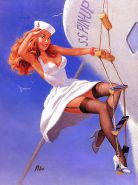 Vintage pin-up drawings 3 (non-nude)