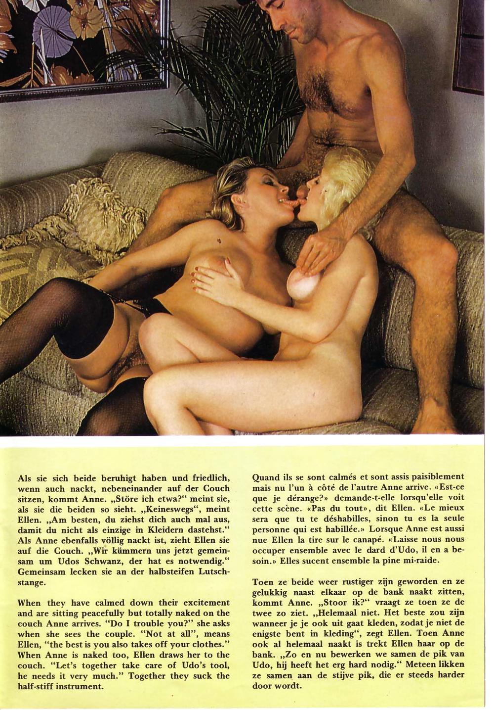Vintage Group Set - Asshole Love Porn Pics #13500915