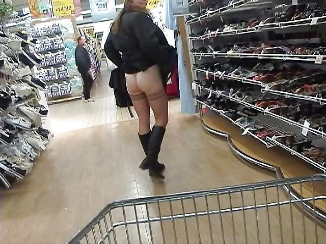Shopping and flashing II ( store voyeur ) #19505032