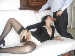 Amateurs in Black Stockings and Pantyhose