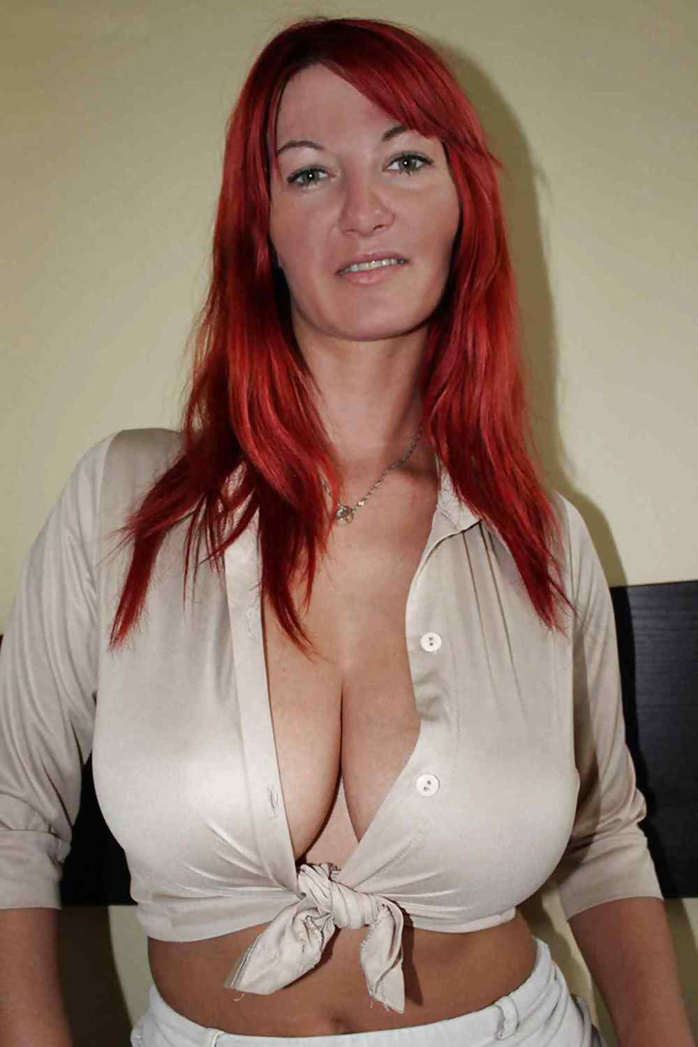 Red Head MILF With Big Tits And Ass by DarKKo Porn Pics #15300547