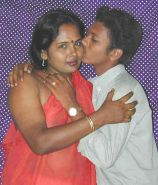 Indian mother &son's friend