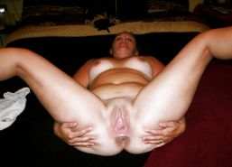 Bbw amateur mature housewife showing their loose pussy #6949307