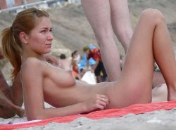 Beautiful Day At The Nude Beach 35 by Voyeur TROC #21279766