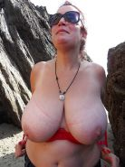 The fantastic breast of a women's friend of xhamster