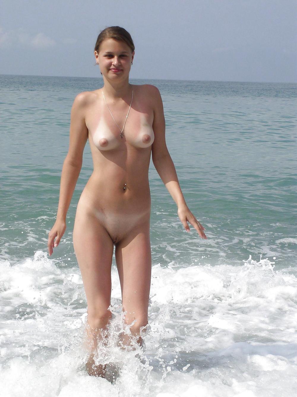 Hairy Beach Pussies Porn Pics #2771864