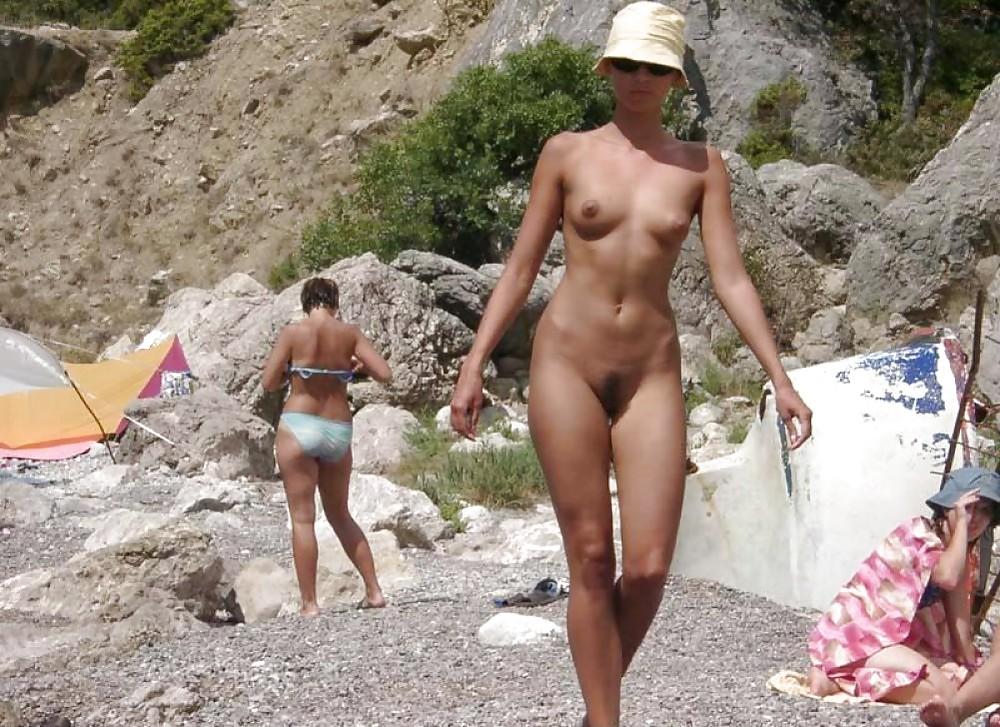 Hairy Beach Pussies Porn Pics #2771936