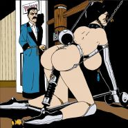 Bdsm Illustrationen Grausame Kunst 2