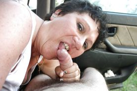 Mature handjob and blowjob #15387403