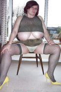 Pantyhose and Stockings 61 (BBW &Mature) by Searcher1957