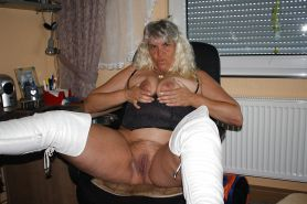 Raunchy Perverted Blonde Cougar