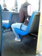 Voyeur - More asses and a blond hottie on the train
