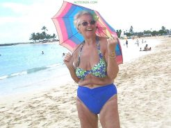 Mature and Grannies clothed swimsuits and lingerie 2  #11049394