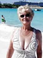 Mature and Grannies clothed swimsuits and lingerie 2  #11049573