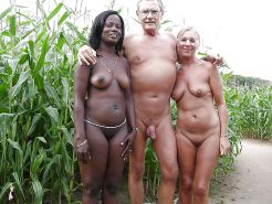 Couples Standing Naked Together  #1335550