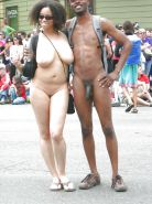 Couples Standing Naked Together  #1335563