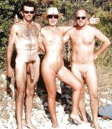 Couples Standing Naked Together  #1335632