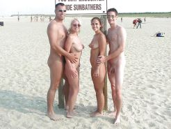 Couples Standing Naked Together  #1335718