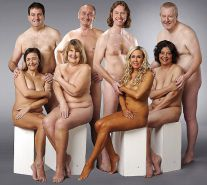 Couples Standing Naked Together  #1335773