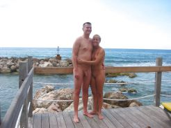 Couples Standing Naked Together  #1335920