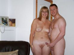 Couples Standing Naked Together  #1335928