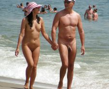 Couples Standing Naked Together  #1335965