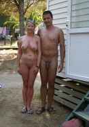 Couples Standing Naked Together  #1335997