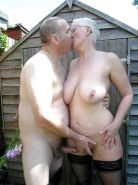 Couples Standing Naked Together  #1336005