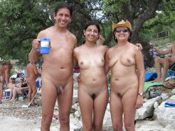 Couples Standing Naked Together  #1336015