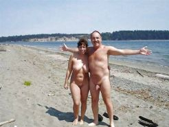 Couples Standing Naked Together  #1336128