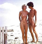Couples Standing Naked Together  #1336280