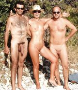 Couples Standing Naked Together  #1336358